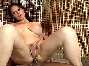 Barbara loves reverse cowgirl and she loves it when her man dominates her