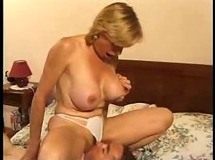 Italian Mature Give Some Experience To Young Man
