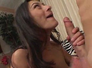 Sexy babe fucked and toes long for sperm
