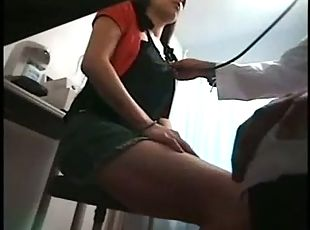 Hot and Sexy Young Girl Gets Touched By A Doctor