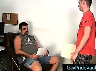 Twink gets rimmed and fucked by bear part5