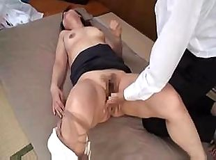 Japanese girl is used and abused at the office where she gets fucked