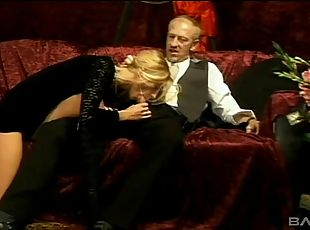 High society members get dirty and low in kinky orgy
