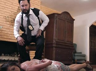 BDSM and a slave role are the favorite games for Silvia Saige